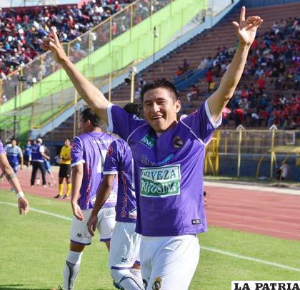 Méndez fue autor del primer gol de Real Potosí