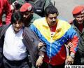 Evo Morales y Nicolás Maduro recuerdan a Hugo Chávez  a un año de su muerte