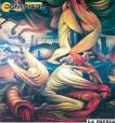 Las pinturas rebeldes de un muralista boliviano