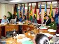 Representantes de los países miembros del Caricom