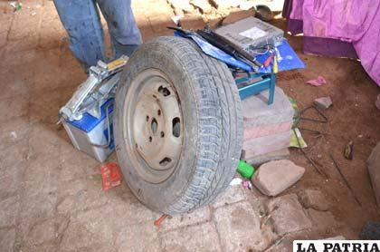 """Los objetos robados (círculos) eran vendidos en el"""" barrio chino"""" por el joven que ahora se encuentra detenido"""
