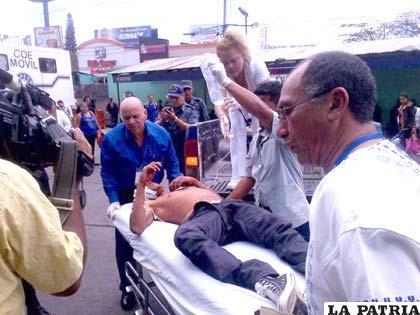Al menos seis reclusos heridos en el motín