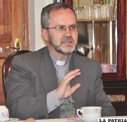 Monseñor Cristóbal Bialasik