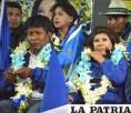 Víctor Hugo Vásquez y Rossío Pimentel buscan ser autoridades de Oruro