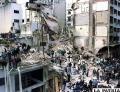 La sede de la AMIA quedó completamente destruida