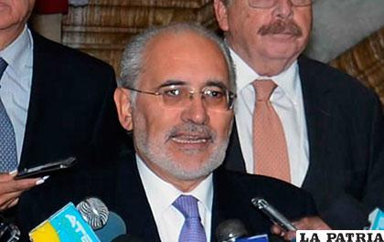 El ex presidente de Bolivia y actual vocero de la demanda marítima, Carlos Mesa /ANF