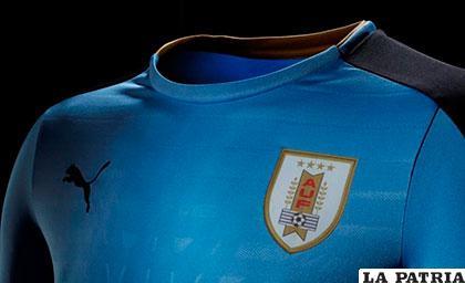 Esta es la nueva casaca de la selección de Uruguay