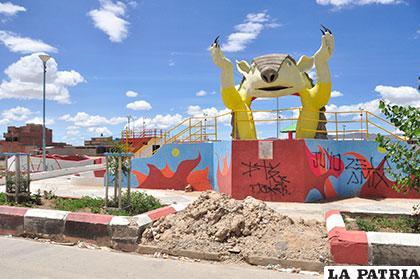 tags la patria noticias de bolivia periodico diario newspaper hermosos juegos para nios alegran plaza en huajara