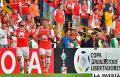 La celebración de Independiente de Santa Fe fue en su reducto