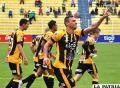 El Tigre concentrado para jugar contra San José