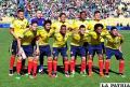La selección colombiana motivada por el triunfo en Bolivia /ANF
