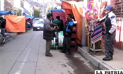 En las calles aledañas también se consumió mucha bebida alcohólica