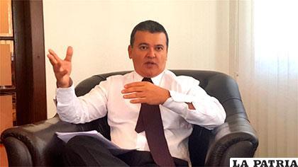 Ronald Nostas, Presidente de la Confederación de Empresarios Privados de Bolivia (CEPB)