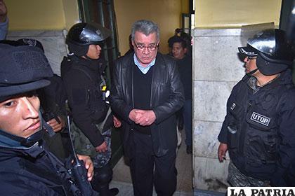Leopoldo Fernández, ex prefecto de Pando, ya pasó 8 años tras las rejas /APG