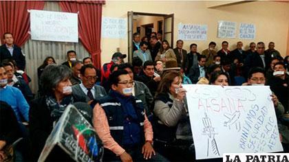 Trabajadores de Aasana amenazan con movilizaciones /ANF