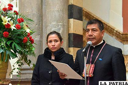 La ministra Campero y el canciller Huanacuni anunciaron reciprocidad en la atención médica para argentinos /APG