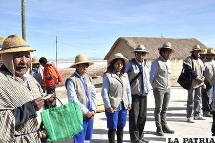 Los Urus del lago Poopó mostrarán sus vivencias /Archivo