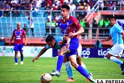 Miguel Suárez intenta superar la marca de su adversario /marka-registrada