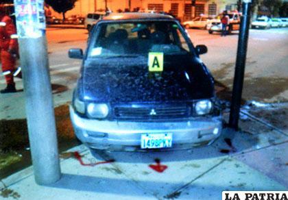 El conductor de este motorizado estaba ebrio al momento del incidente
