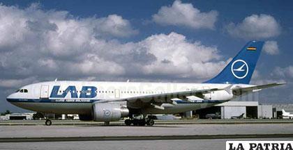 Las naves del LAB aún sin operar /Mira Bolivia