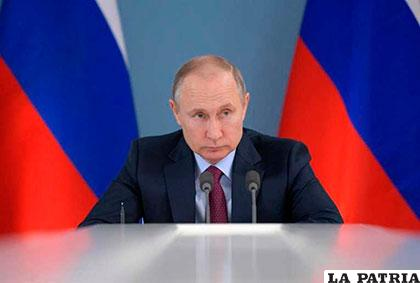 Vladímir Putin, presidente de Rusia /opinion.com.bo