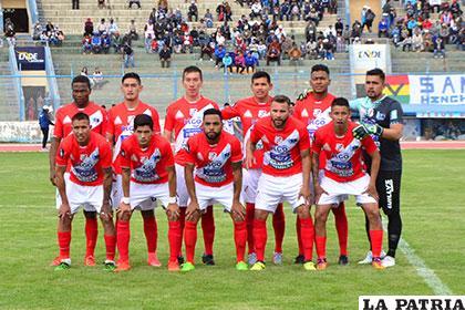 Nacional Potosí el equipo que ganó a San José en la ida