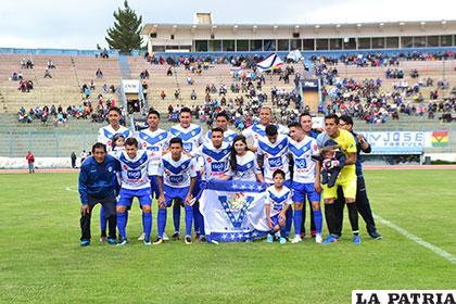 El equipo de San José que no pudo ante Nacional en su debut