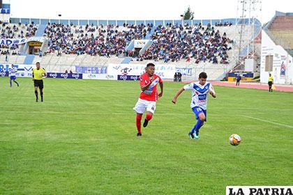 En la ida, Nacional Potosí venció (1-2) en Oruro el 27 de enero de este año
