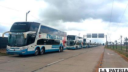 14 nuevos buses refuerzan servicio de Trans Azul /TRANS AZUL