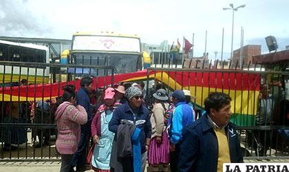 Operadores y transportistas cerraron puertas de la Terminal