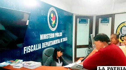 Fiscalía de Tarija /ahoradigital.net