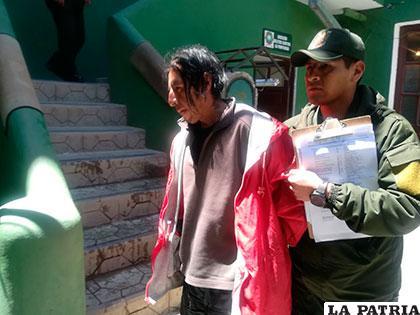 El sujeto mató al hijo de un diputado del MAS