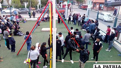 Buena presencia de público en la exhibición del deporte urbano