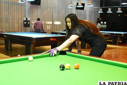 Natilena Blanco, espera realizar una buena representación en el Gran Prix