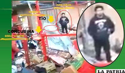La imagen presentada por la Policía de la participación de Herrera /Erbol