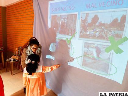 EMAO busca fomentar en los niños la cultura de la limpieza y el aseo /EMAO