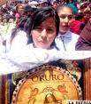 Ciudadanía manifestó su dolor y pidió respetar a la Virgen del Socavón