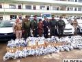 Dinafron entregó a la Aduana y Diprove  coches ingresados de manera ilegal al país