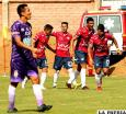 Wilstermann golea sin reparos a Real Potosí: 4-0
