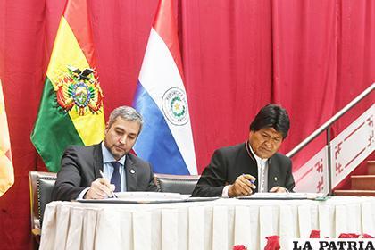 Documentos firmados fortalecen la relación comercial / ABI