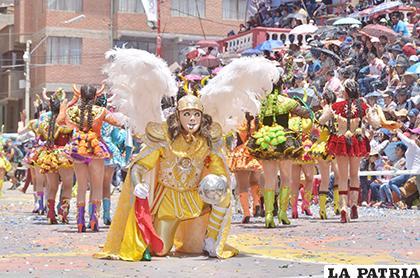 ACFO analizará el Carnaval de Oruro 2019  /LA PATRIA /Miguel Bellota