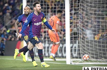 Doblete de Messi además de dos asistencias /as.com