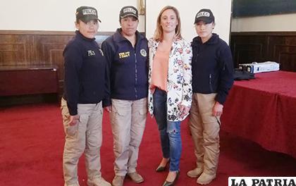 La Policía es considerada como uno de los brazos operativos más importantes /LA PATRIA