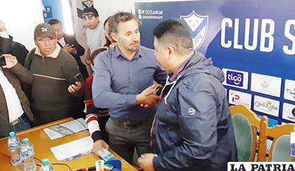 Wilson Martínez da la bienvenida a Miguel Ponce nuevo estratega del cuadro