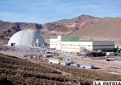Un gigante domo preserva la seguridad ambiental en la minera San Cristóbal