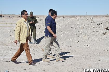El fiscal Fernando Pardo recibió el informe forense psicológico /Archivo LA PATRIA