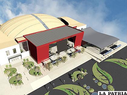 Se espera un Teatro Nacional Oruro con todo su esplendor /LA PATRIA /archivo