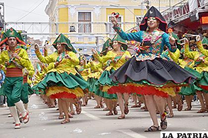 Se debe organizar de manera responsable el Carnaval de Oruro /LA PATRIA