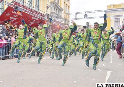 Carnaval de Oruro, es un gran potencial turístico /LA PATRIA