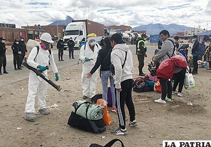 Situación que se vive en Pisiga /Migración Bolivia